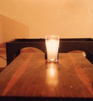 Candle glass, Drummoyne, Aug 1979