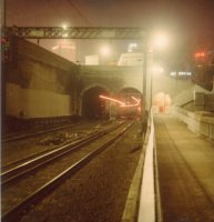 Train from Wynyard, Jun 1979