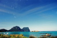 Lord Howe Island, by moon light, 12 Feb 2006