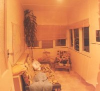 Back lounge room, River Road, Late 1983