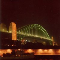 Sydney Harbour Bridge, Jun 1979
