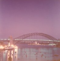 Sydney Harbour Bridge, Mar 1984 #1