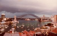Sydney Harbour Bridge, Mar 1984 #2