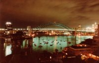 Sydney Harbour Bridge, Mar 1984 #3