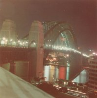 Sydney Harbour Bridge, 3 Aug 1984