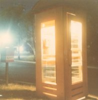 Telephone Box, Angophora Reserve, Forestville, Oct 1979