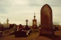 Waverly Cemetry, Mar 1985 #1